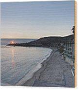 Ca Beach - 121215 Wood Print