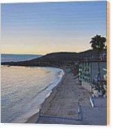Ca Beach - 121230 Wood Print