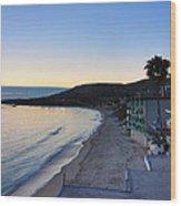 Ca Beach - 121231 Wood Print