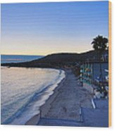 Ca Beach - 121232 Wood Print
