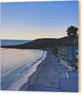Ca Beach - 121233 Wood Print