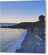 Ca Beach - 121234 Wood Print