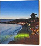 Ca Beach - 121239 Wood Print