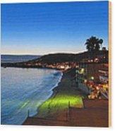 Ca Beach - 121240 Wood Print