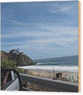 Ca Beach - 12127 Wood Print