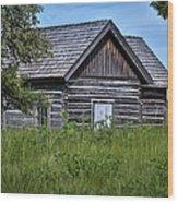 Cabin 2 Wood Print