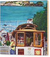 Cable Car No. 17 Wood Print