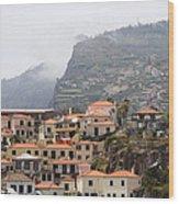 Cabo Girao Madeira Portugal Wood Print