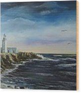 Cabo Rojo Lighthouse Wood Print