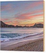 Cabo Sunset Wood Print