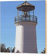 Cabrillo Street Lighthouse Wood Print