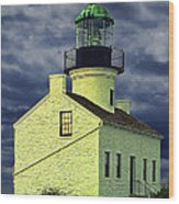 Cabrillo National Monument Lighthouse No 1 Wood Print