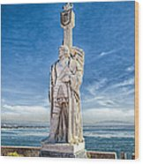 Cabrillo National Monument - Point Loma California Wood Print