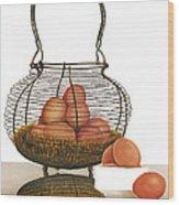 Cackleberries Wood Print