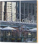 Cactus Club Cafe II Wood Print
