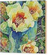 Cactus Splendor II Wood Print