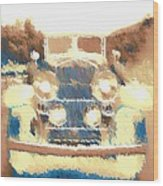 Caddy Phaeton Wood Print