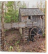 Cades Cove Mill Wood Print