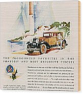 Cadillac La Salle 1929 1920s Usa Cc Wood Print by The Advertising Archives
