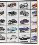 Cadillac La Salle Automotive Poster Wood Print