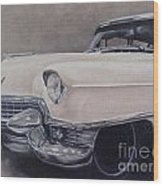 Cadillac Study Wood Print
