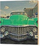 Cadillac Style  Wood Print
