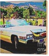 Cadillac Supreme Wood Print