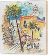 Cadiz Spain 04 Wood Print