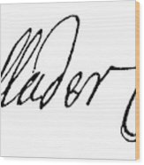 Cadwallader Colden (1688-1776) Wood Print