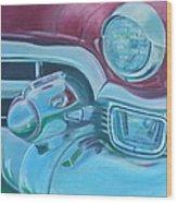 Cadzilla 1953 Cadillac Series 62 Convertible Wood Print