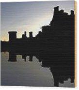 Caerlaverock Castle - 6 Wood Print