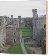 Caernarfon Castle Wood Print