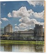Caerphilly Castle 3 Wood Print