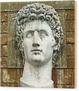 Caesar Augustus Wood Print