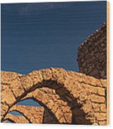 Caesarea Wood Print