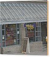 Cafe Abodegas Wood Print
