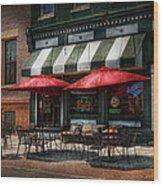 Cafe - Albany Ny - Mc Geary's Pub Wood Print