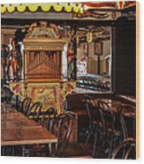 Cafe Chez Eugene - Montmartre Wood Print