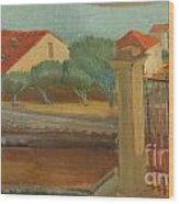 Cagnes-sur-mer Wood Print