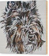 Cairn Terrier Martha Wood Print