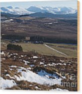 Cairngorms Mountains From Dorback Wood Print