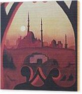 Cairo At Egypt Wood Print