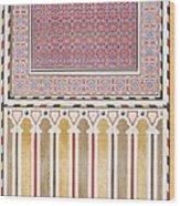 Cairo Decoration Of The El Bordeyny Wood Print