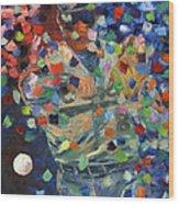 Cal Ripken Jr Wood Print by Ash Hussein