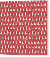 Cal Tree Red Wood Print
