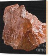 Calcite Crystal Wood Print