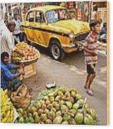 Calcutta - India Wood Print