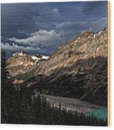 Caldron Peak  Wood Print