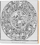 Calendar, 1503 Wood Print