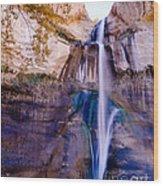 Calf Creek Falls 2 Wood Print